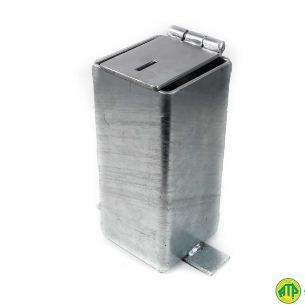Galvanised Removal Bollard Sleeve