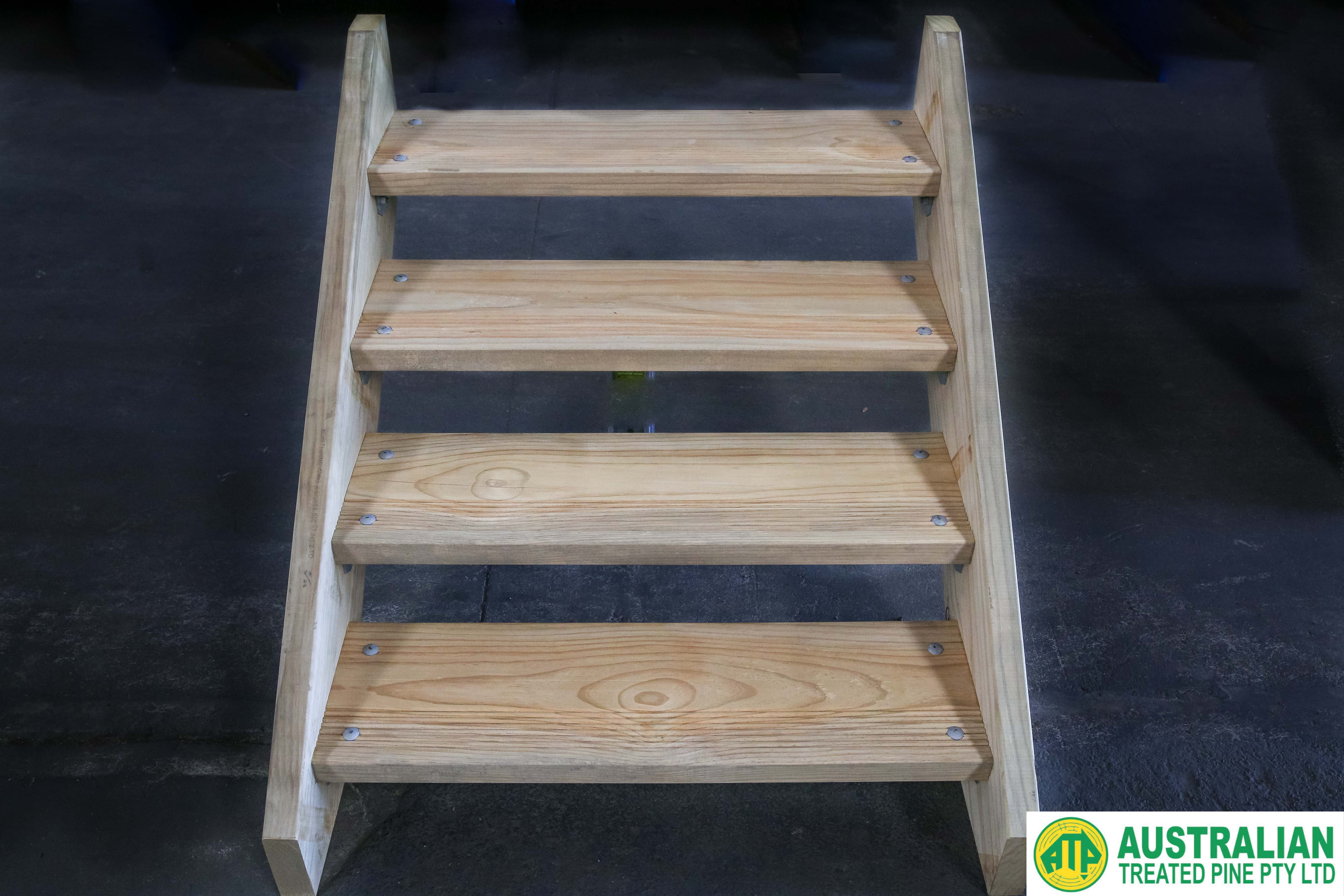 Pre Fab Stairs Treated Pine Dry