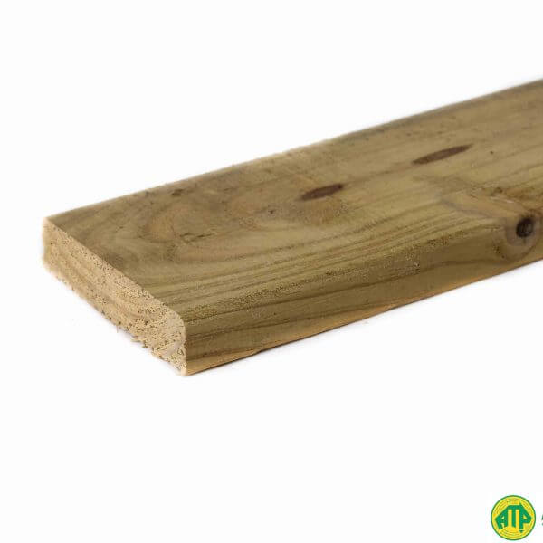 treated pine decking sizes