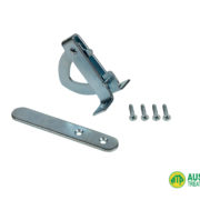 "Gate Latch ""D"" Pattern Zinc Plated"