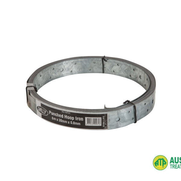 Galvanised Punched Hoop Iron