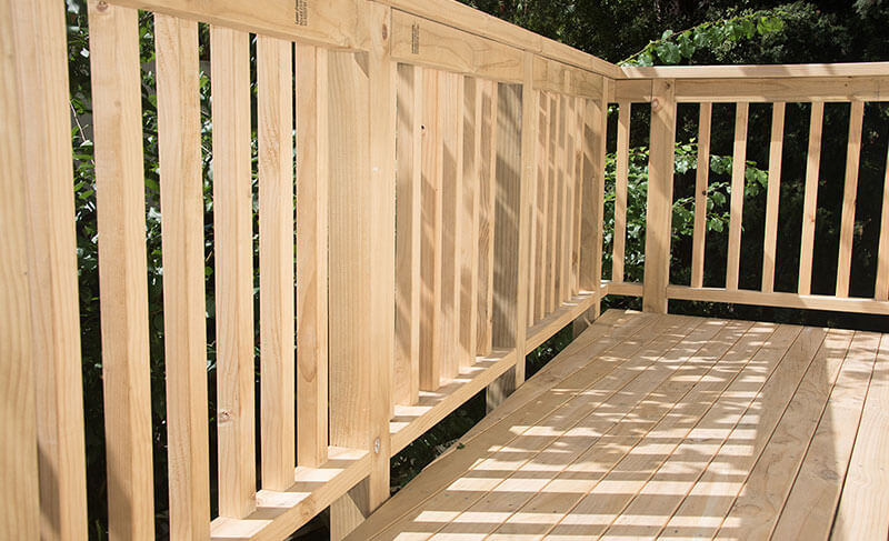 decking treated pine