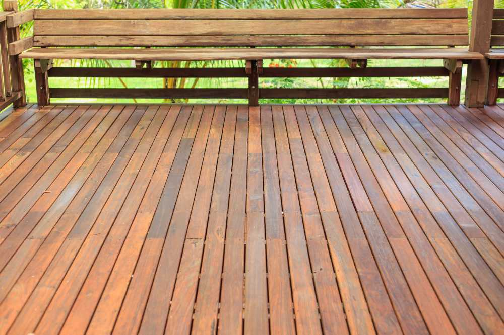 treated pine decking timber