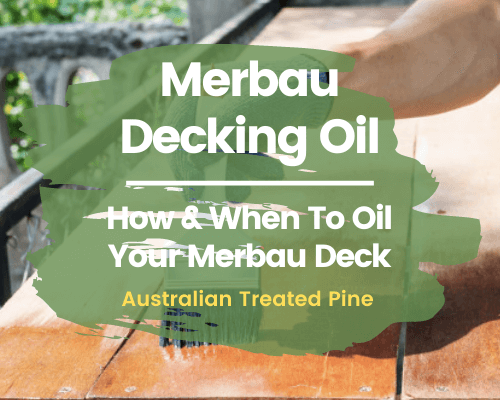 Merbau Decking Oil