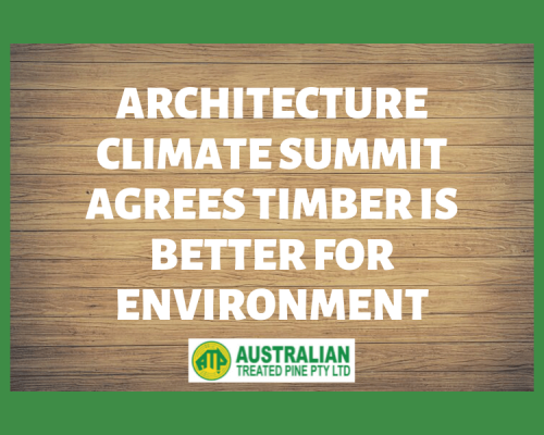 is timber environmentally friendly
