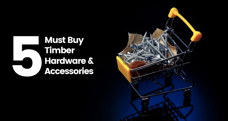 must buy timber hardware accessories